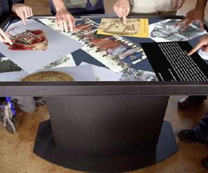 Демонстрационные столы с RFID технологией
